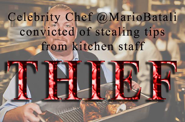 Thief Chef Mario Batali - h