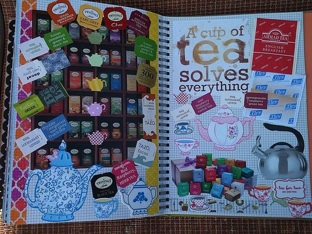 Tea Smash Book Pages