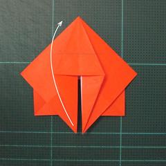 วิธีพับกระดาษเป็นที่คั่นหนังสือรูปผีเสื้อ (Origami Butterfly Bookmark) 024