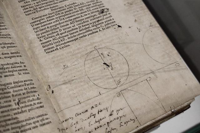 Blaise Pascal, Première lettre sur la roulette, 1658, BnF, réserve des livres rares - Exposition Blaise Pascal à la Bibliothèque nationale de France