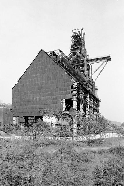 abandoned steel works