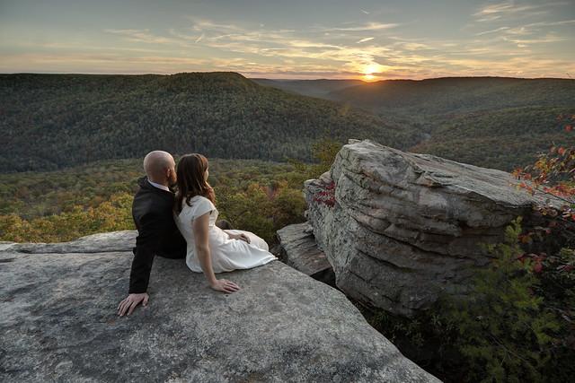 Mike West, Hannah Ross West, Welch Point, Bridgestone Firestone Centennial Wilderness WMA, White County, Tennessee