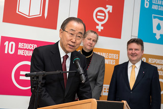 United Nations Secretary-General Ban Ki-moon to visit Austria