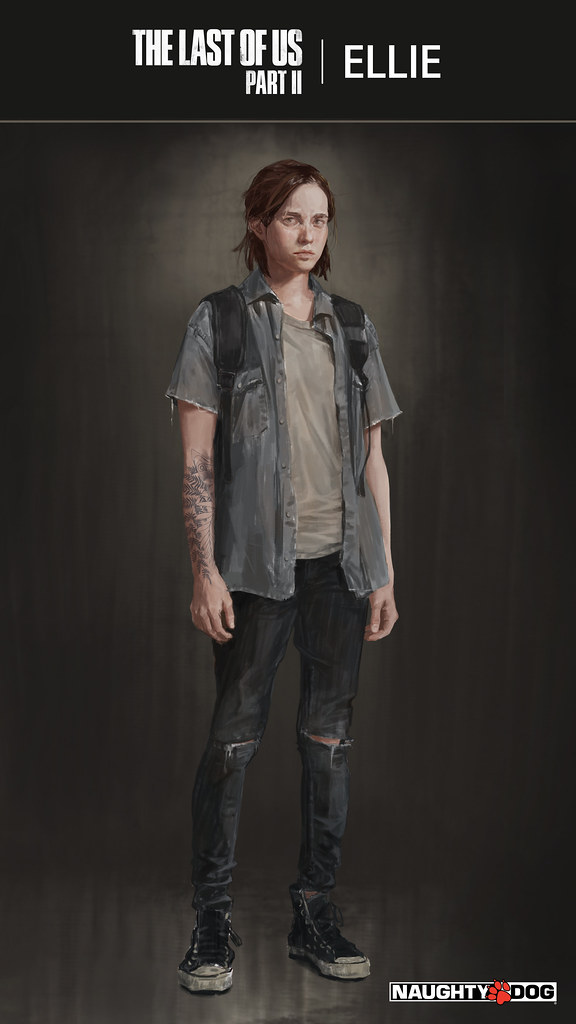 Ellie reference - The Last of Us Part II