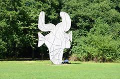 Vondelpark Picasso beeld, Amsterdam 2013