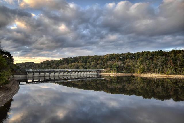 Great Falls Lake, Rock Island SP, Warren Co, TN