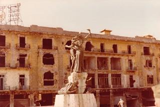 Martyrs' Square, Beirut, Lebanon 1982
