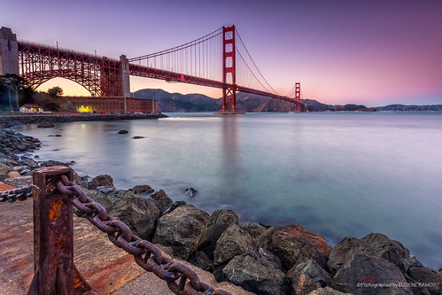 sanfrancisco california seascape landscape goldengatebridge fortpoint presidio