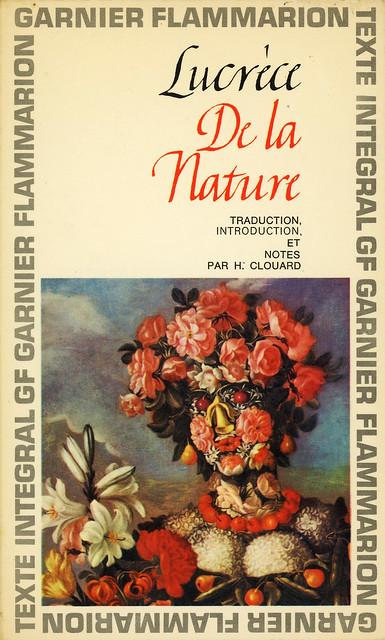 Garnier-Flammarion 30 - Lucrèce - De la Nature