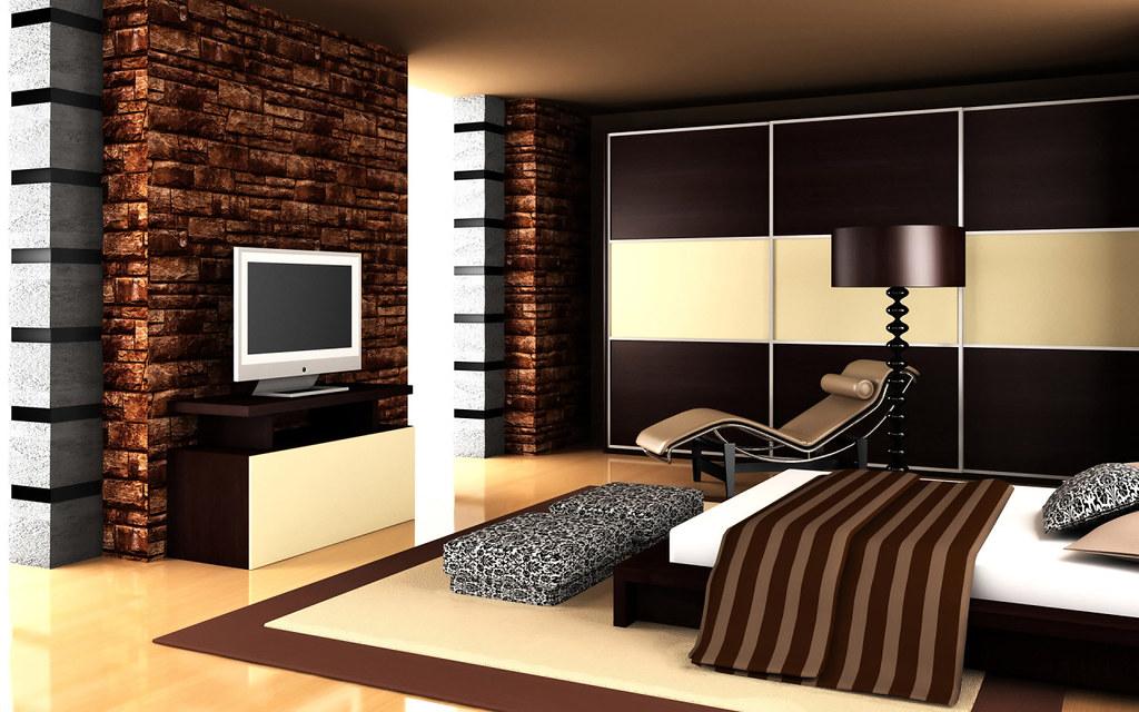 Hd Wallpapers Modern Romantic Bedroom Tasteful Wallpaper 1 Flickr