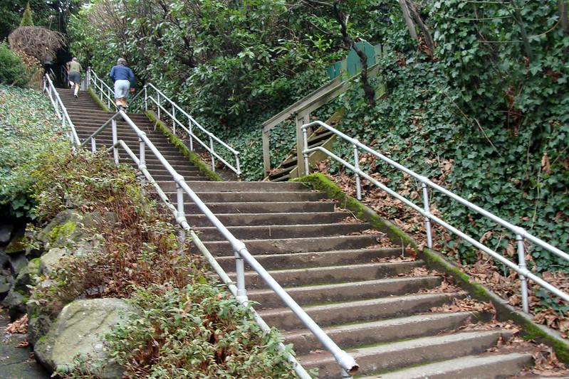 Howe Street Stairs