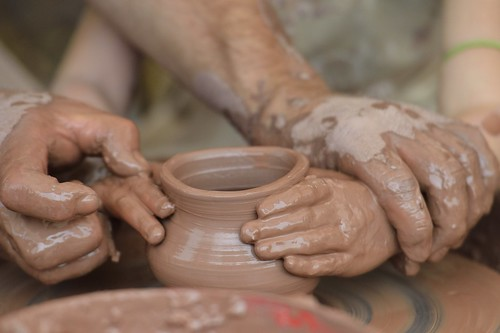 Child's Hands in Clay | by diana_robinson