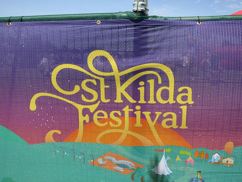 St Kilda banner