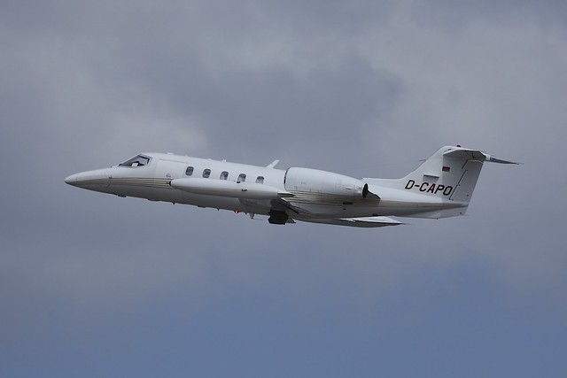 D-CAPO Learjet 35A LIS 24May2014
