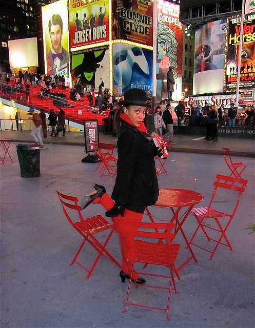 Red for Times Square
