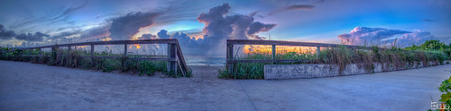 morning storm beach clouds sunrise colorful florida cloudy stormy panoramic boardwalk sunrays hdr lakeworth topazlabssoftware topazplugins