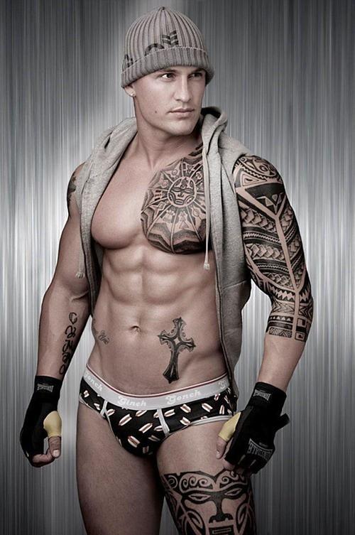 Tattoo brust männer 50 Brust