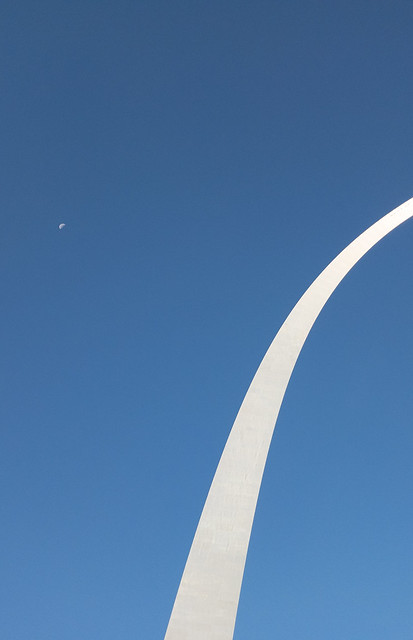 The Moon and The Arch