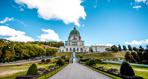 canada cathedral colors architecture blue skies sony walking walkways travelformyjob autdoor panoramiophotos