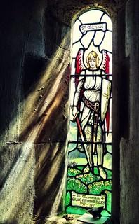 St Michael among spring flora | by William Parsons Pilgrim