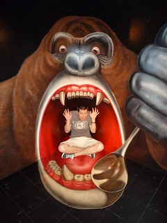Eaten @ Trick Art Museum | by Rob Young