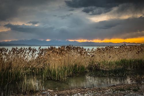 longexposure sunset storm water reeds harbor utah spring nikon day willow shore provo utahlake d800 1635 utahcounty americanfork 1xp nikkorafs1635mmf4gedvr largestnaturallake