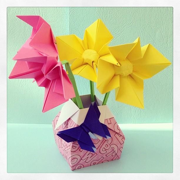 Tulips of origami stock photo. Image of where, religious - 117310676 | 612x612