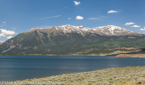 Mountain landscape in the Twin Lakes area