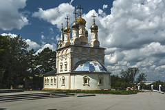 Walk in the Ryazan Kremlin