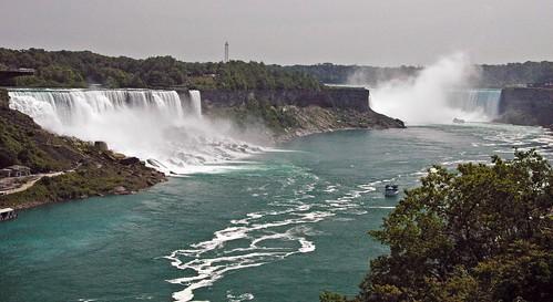 Niagara Falls (Horseshoe Falls & American Falls & Bridal Veil Falls) (northwest of Buffalo, New York State, USA) 2 | by James St. John