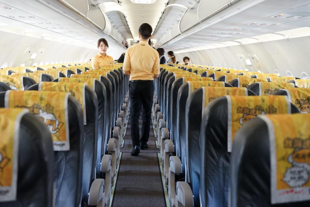 tiger air Taiwan機内2