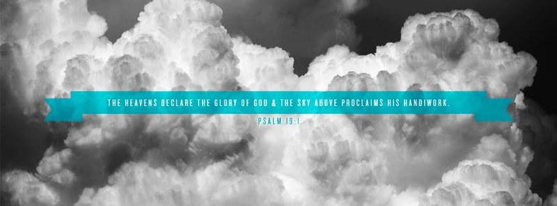 Psalm 19 1 Heavens Declare Glory Of God Free Christian Fac Flickr