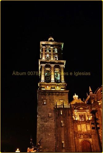 Catedral de Puebla Exteriores,Puebla de los Ángeles,Estado de Puebla,México