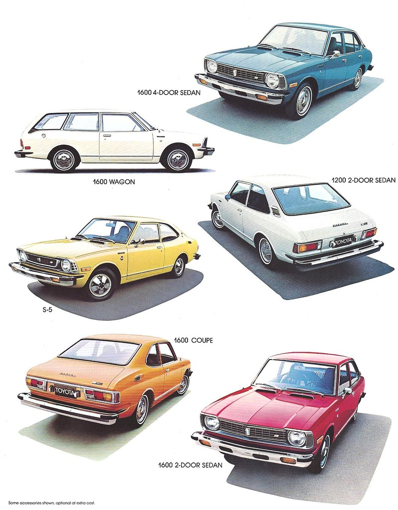 Kelebihan Toyota Corolla 1974 Perbandingan Harga