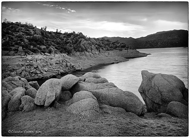 Lake Barlett Before Dawn