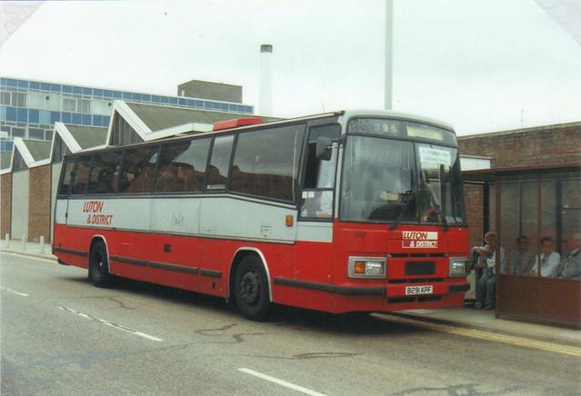 132 (2) (TPL 91), B291 KPF, Leyland Tiger TRCTL11-3R, Plaxton Paramount Body C51F, 1985, (t.1993) (Ex-LCNW)