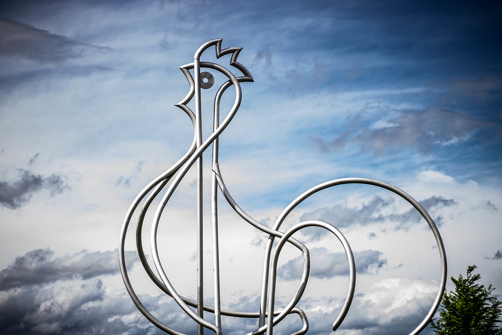 poulet de Bresse #FlickrFriday #LocalLandmark
