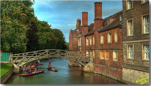 Mathematical Bridge, Cambridge, UK ... HDR | by Emil9497 Photography & Art