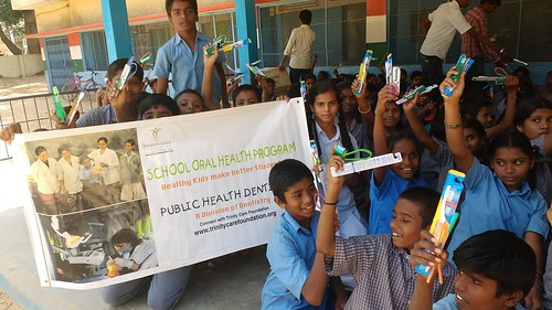 School Oral Health Program Bangalore | by Trinity Care Foundation | CSR Projects in India