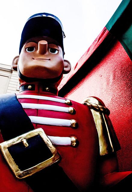 Arrogant soldier