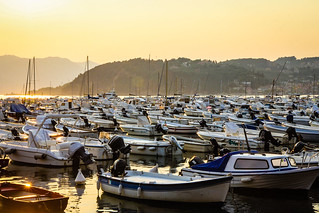 Sunset over Lerici harbour #2 | by Pank Seelen