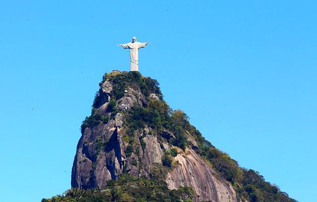 DSC00030/Brazil/Rio De Janeiro/Corcovado Peak/ Christ Rédempteur/O Cristo Rédentor/