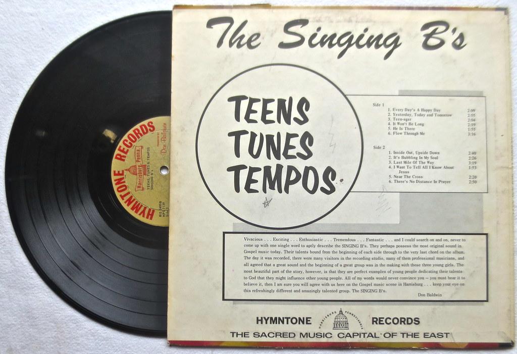 1960s The Singing Bs LP Vintage Vinyl Record Album 2   Flickr