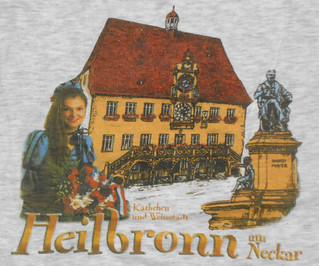 Heilbronn - Souvenir Shirt with Rathaus