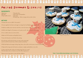 superior quality brand new order online Melted Snowman Cookies Christmas Recipe | Kids will love the ...