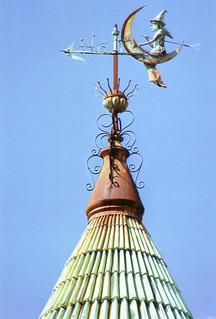 Witch Weather Vane Biloxi Ms Strange And Unusual I Li Flickr
