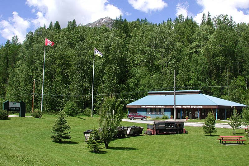 Fernie Visitor Centre, Fernie, Elk Valley, BC Rockies, Kootenay Rockies, British Columbia, Canada