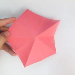 สอนวิธีการพับกระดาษเป็นดอกมะเฟือง (Origami Carambola) 005