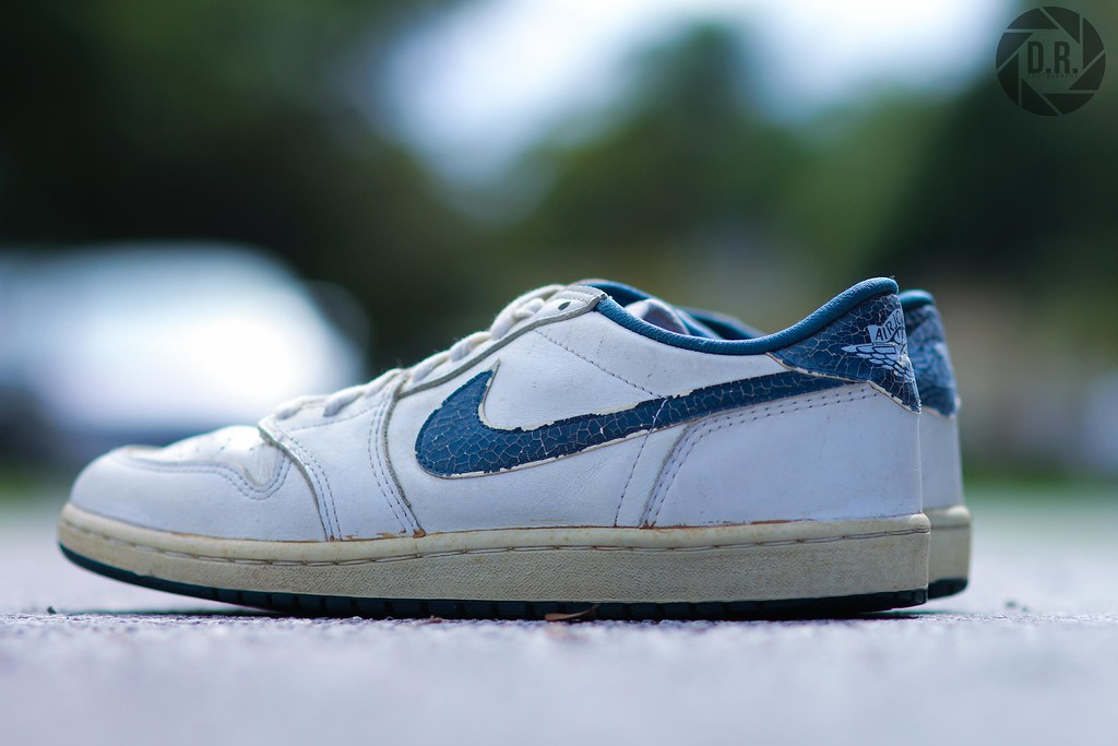 new products eed8a 513b9 ... DylanRatnerPhotography 1985 Air Jordan 1 Low Metallic Blue | by  DylanRatnerPhotography