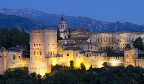 Alhambra palace at dusk | by San Diego Shooter